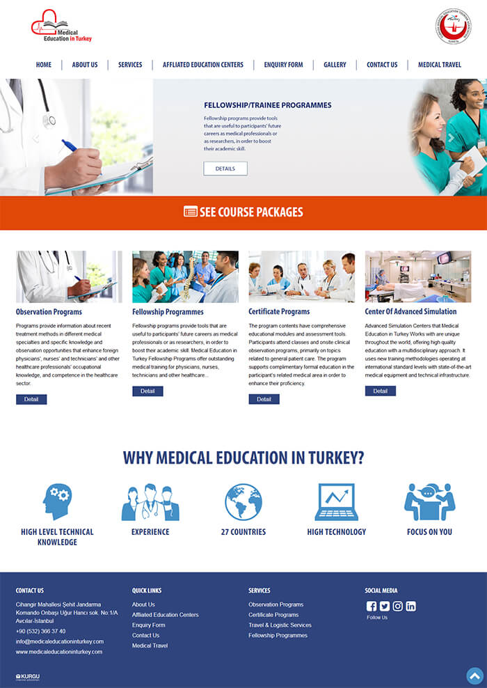 Medical Education in Turkey